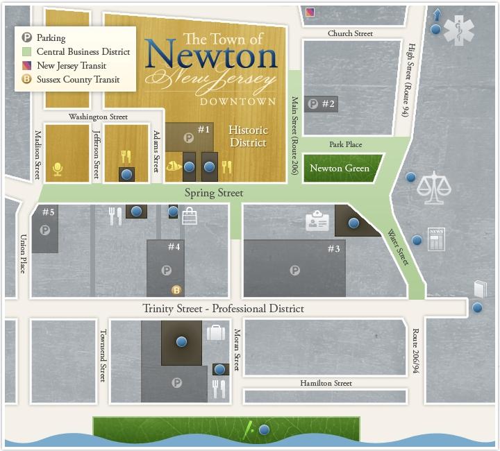 Website Index Site Map: Newton, NJ - Official Website